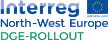 Interreg North-West Europe DGE-Rollout logo